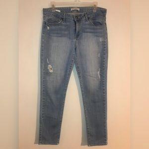 Rich & Skinny Factory Distressed Skinny Jeans 29